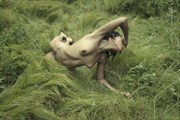 Waves of Grass Artistic Nude Photo by Artist Kevin Stiles
