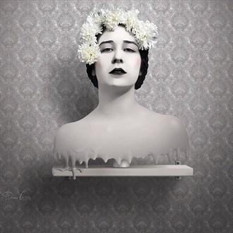 Wax Trophy Surreal Artwork by Photographer Dennis Gatz