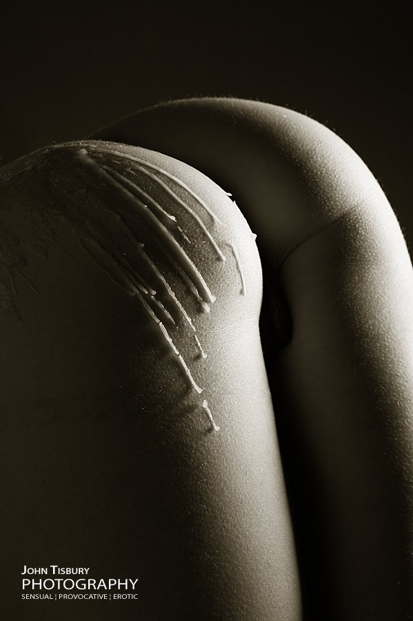 Wax drips Artistic Nude Photo by Photographer John Tisbury