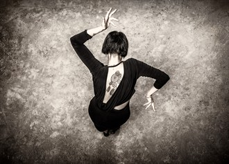 We Dance Alone Abstract Photo by Photographer Tony Browne