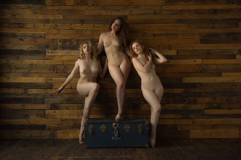 We Three Queens Artistic Nude Photo by Photographer NeilH