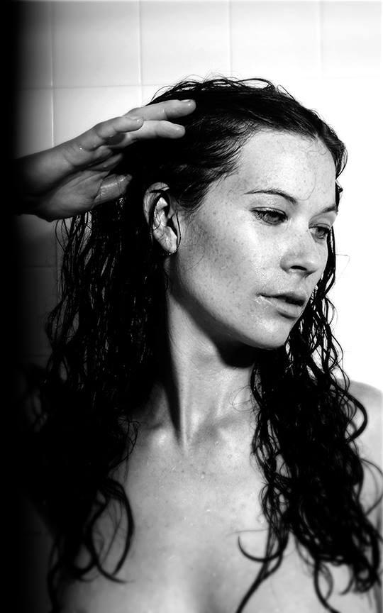 Wet Portrait 105 Implied Nude Photo by Model Lavanya Maya