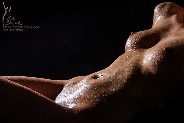 Wet... Artistic Nude Photo by Photographer Robert Sleeper