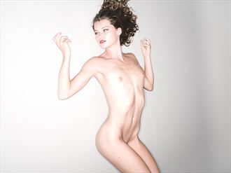 What's back there%3F Artistic Nude Artwork by Model Billie