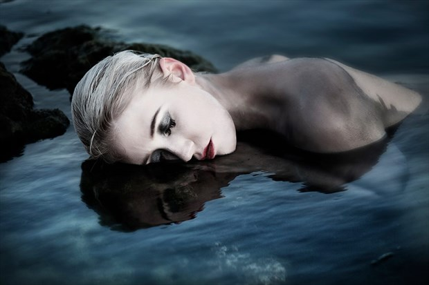 What Lies Beneath Nature Artwork by Model Deeza Lind