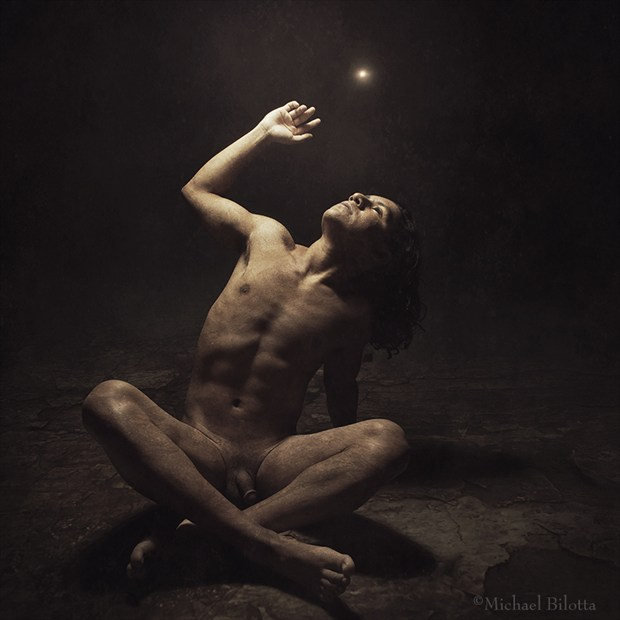 What Light Comes Through Artistic Nude Photo by Photographer Michael Bilotta