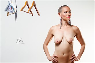 What To Wear%3F Artistic Nude Photo by Photographer Syd Redmond Photography