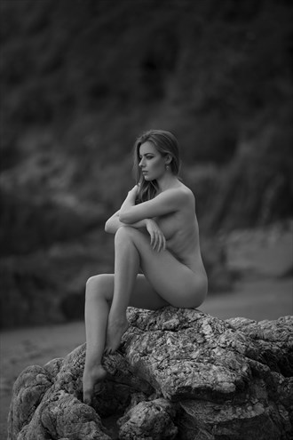 What is it to die but to stand naked in the wind and to melt into the sun%3F Artistic Nude Photo by Photographer Andrew Rowe
