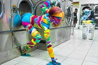 When Colors Run Fantasy Photo by Photographer Casey Jones