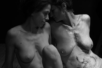 When Souls melt in Art 14... Artistic Nude Photo by Photographer Iroiseorient