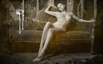 When all comes undone Artistic Nude Artwork by Model Veronica