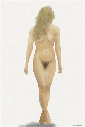 Which way to turn Artistic Nude Artwork by Artist ianwh