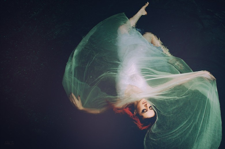 Whirl Nature Photo by Model Shaun Tia