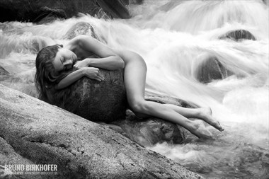 Whispering of the river Artistic Nude Photo by Photographer Bruno Birkhofer