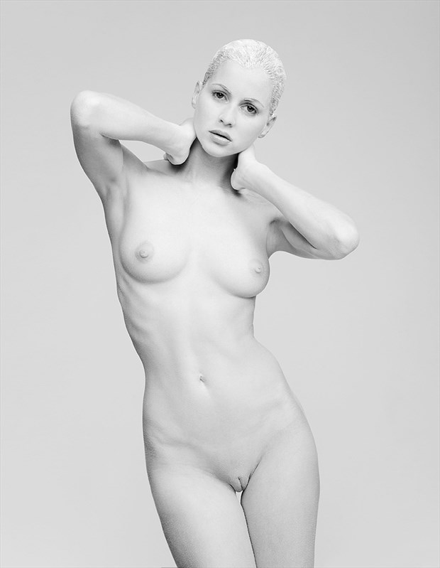 White Artistic Nude Artwork by Model Anna Johansson