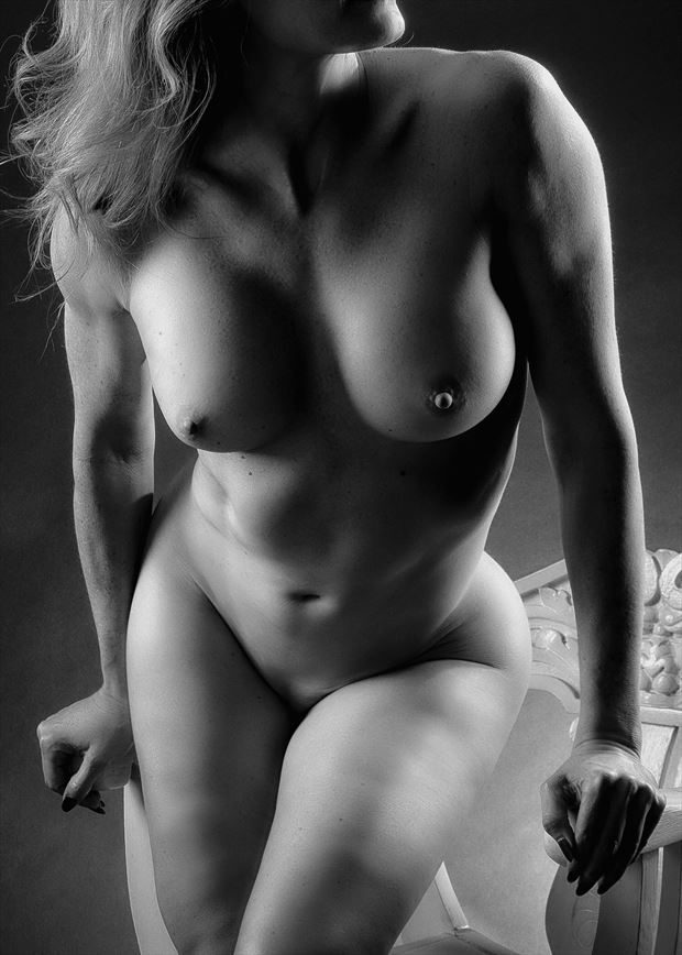 White Chair %231 Artistic Nude Photo by Photographer rick jolson