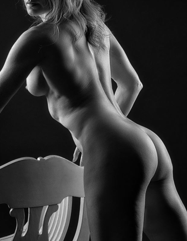 White Chair %233 Artistic Nude Photo by Photographer rick jolson