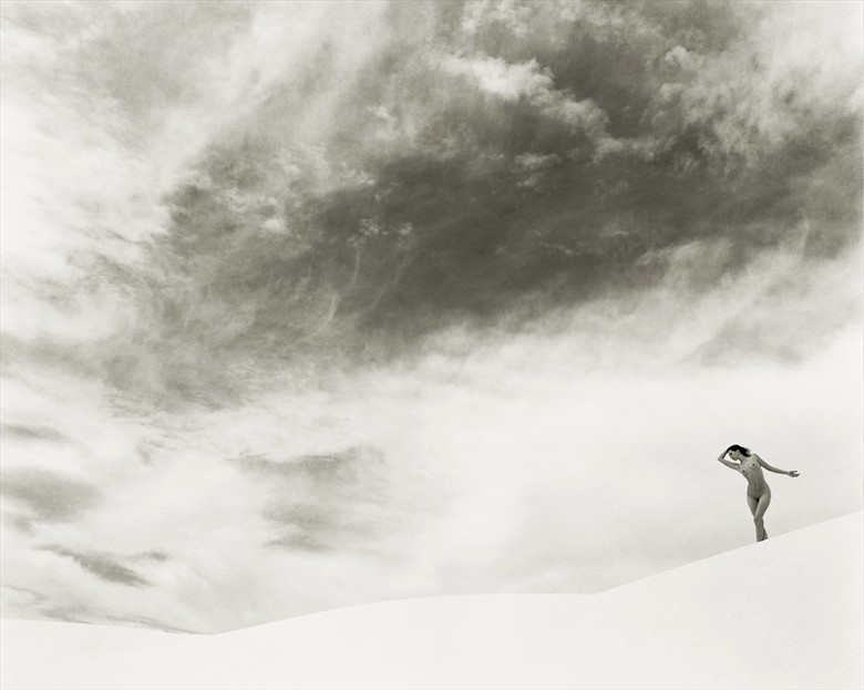 White Sands, NM Artistic Nude Photo by Photographer Christopher Ryan