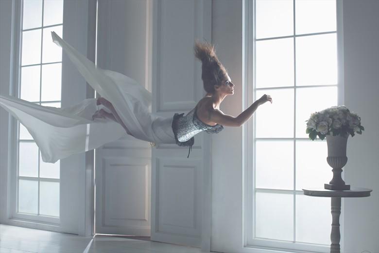 White Splash Surreal Artwork by Photographer Paolo Montalbano