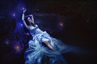 Will o' the wisp Fantasy Photo by Photographer Necrania Chmurella