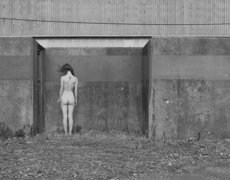 Wind Blows Artistic Nude Photo by Model Mauvais