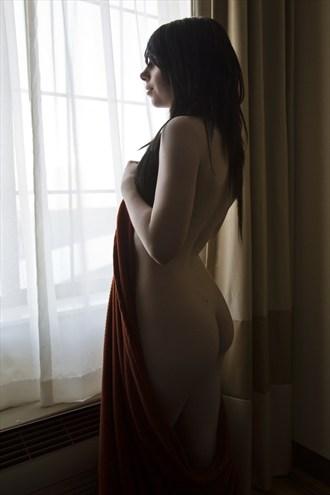 Window Artistic Nude Artwork by Model Morgan Elizabeth