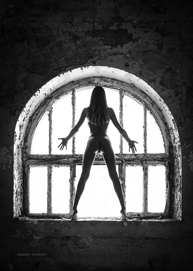Window Artistic Nude Photo by Photographer Andrey Stanko