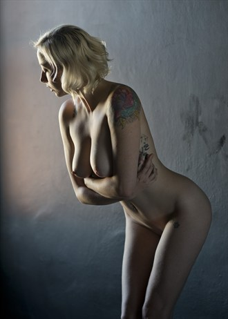 Window Figure Artistic Nude Artwork by Photographer Alan H Bruce