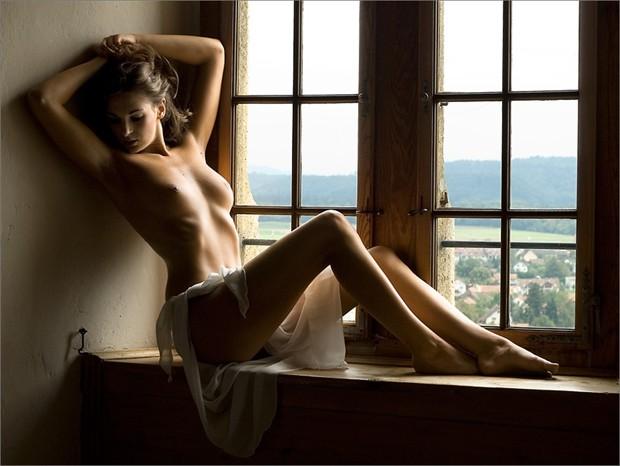 Window Seat Artistic Nude Photo by Photographer Martin Zurm%C3%BChle