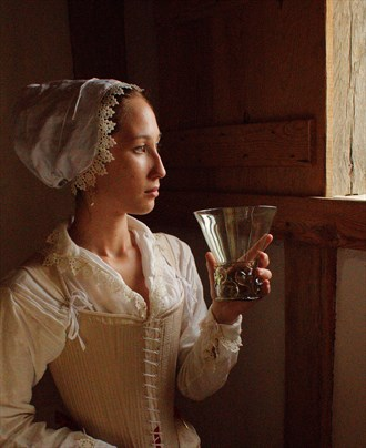 Window into the 17th Century Fashion Photo by Photographer Fred Scholpp Photo