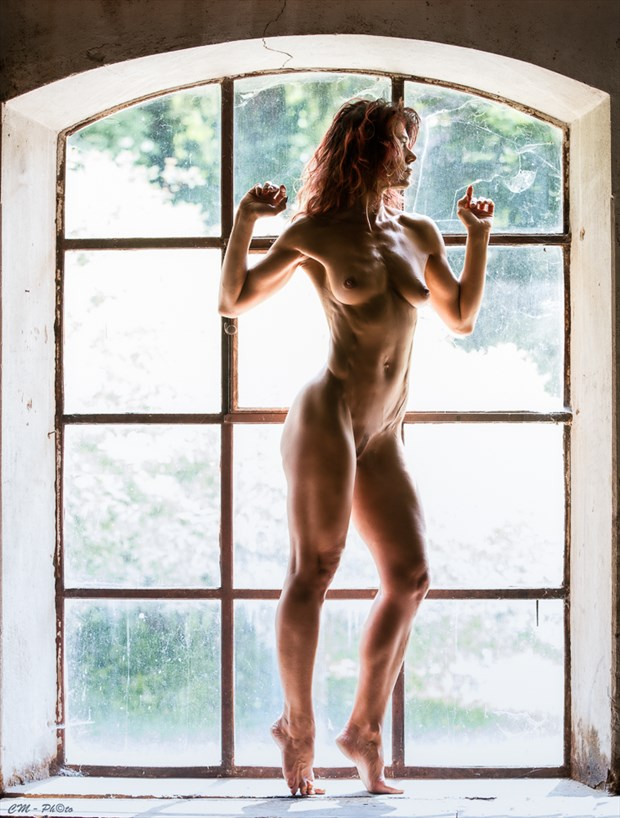Window undressing Artistic Nude Photo by Photographer CM Photo