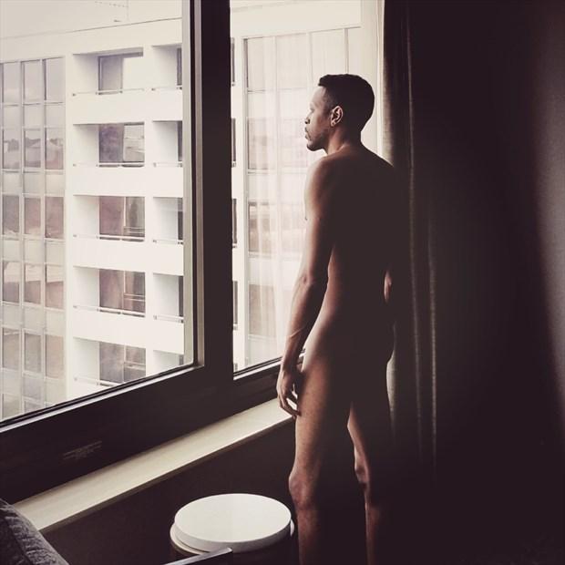 Windows Artistic Nude Photo by Artist Z@hr