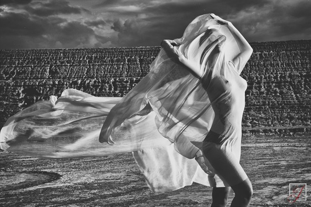 Windswept Artistic Nude Photo by Photographer Omega Photography
