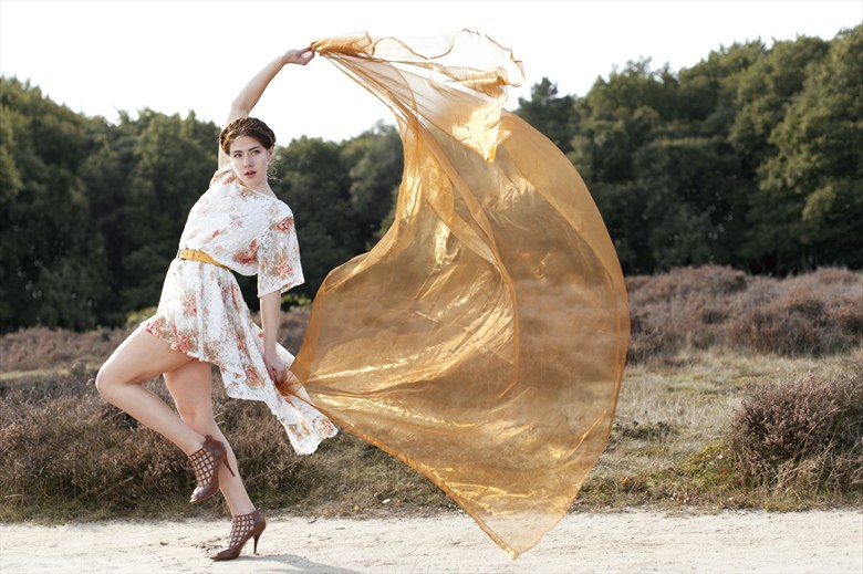 Windy days Nature Photo by Model Joy Draiki