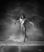 Winged Artistic Nude Photo by Artist GonZaLo Villar