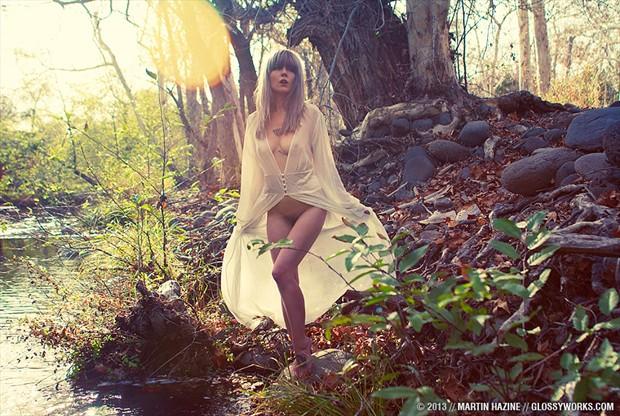 Winter Dreams Artistic Nude Artwork by Model Plush