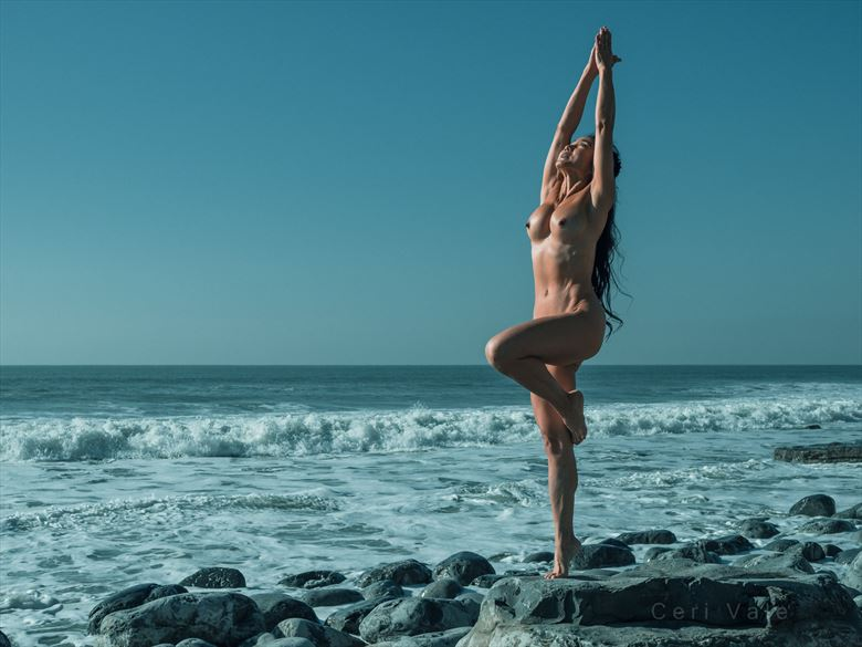 With the Coming Tide Artistic Nude Photo by Photographer Ceri Vale