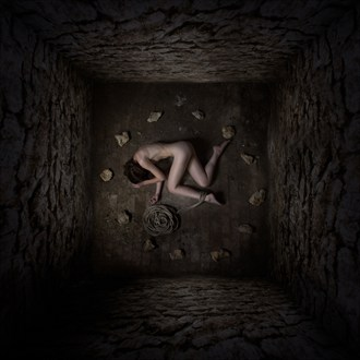 Within these walls I found nothing but silence Artistic Nude Photo by Photographer Blofeld