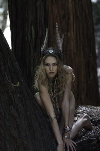 Wolfchild Nature Photo by Model California Kaela