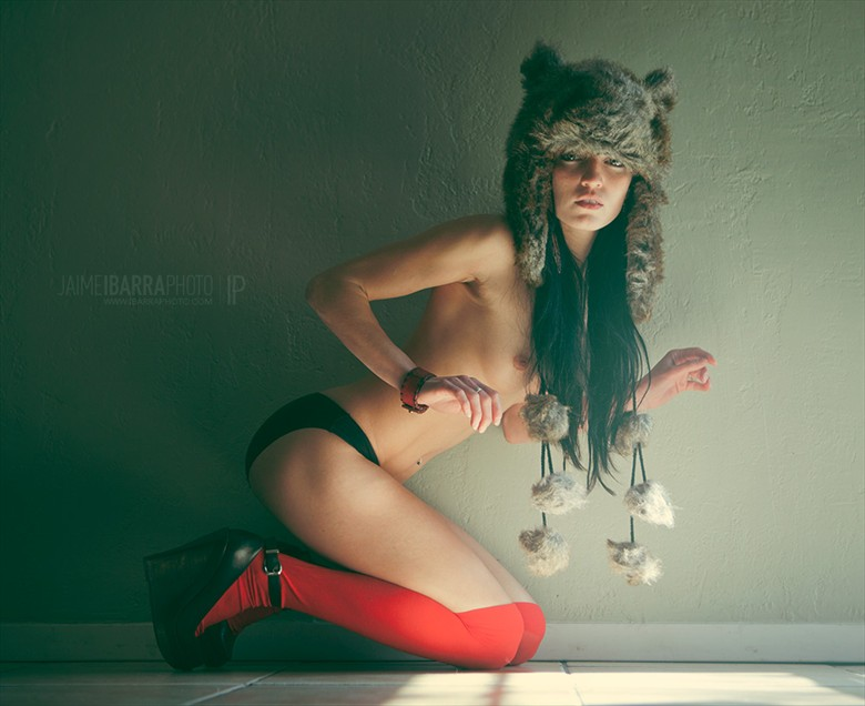 Wolfkind Artistic Nude Photo by Photographer Jaime Ibarra