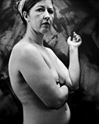 Woman's Gaze Artistic Nude Photo by Photographer wmzuback