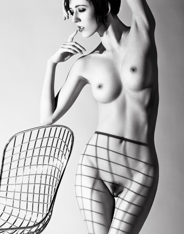 Woman and Chair Artistic Nude Photo by Photographer Lorance Photography