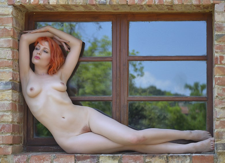 Woman at the window Implied Nude Photo by Photographer JoseSFAndres