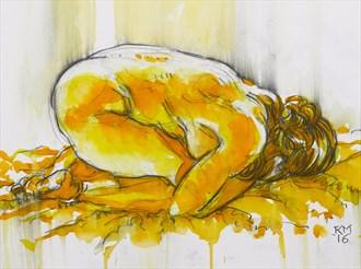 Women Glow Artistic Nude Artwork by Artist Rob MacGillivray