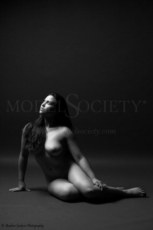 Wondering Artistic Nude Photo by Model Charlotte Dell'Acqua