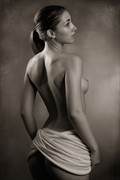 Wrap Artistic Nude Photo by Photographer Mick Waghorne