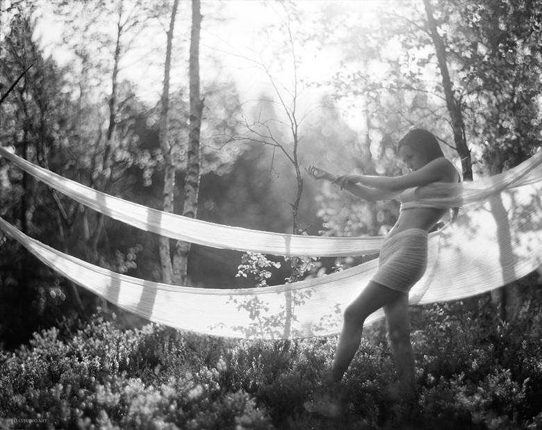 Wrapped Artistic Nude Photo by Photographer Fabien ElleStudio