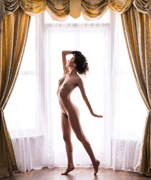Wrapped in Light Artistic Nude Photo by Photographer Richard Maxim