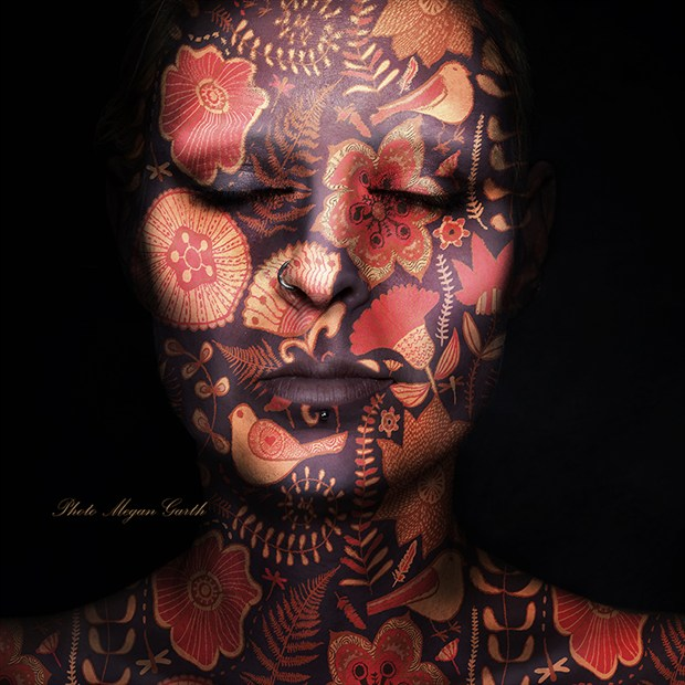 Xanthe Abstract Artwork by Photographer Megan Garth