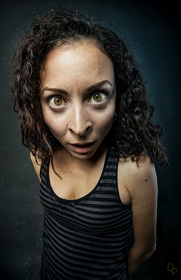 Yeah, I am... by Oliver Playford Expressive Portrait Photo by Model Just Ana